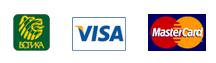 БОРИКА, Visa и MasterCard